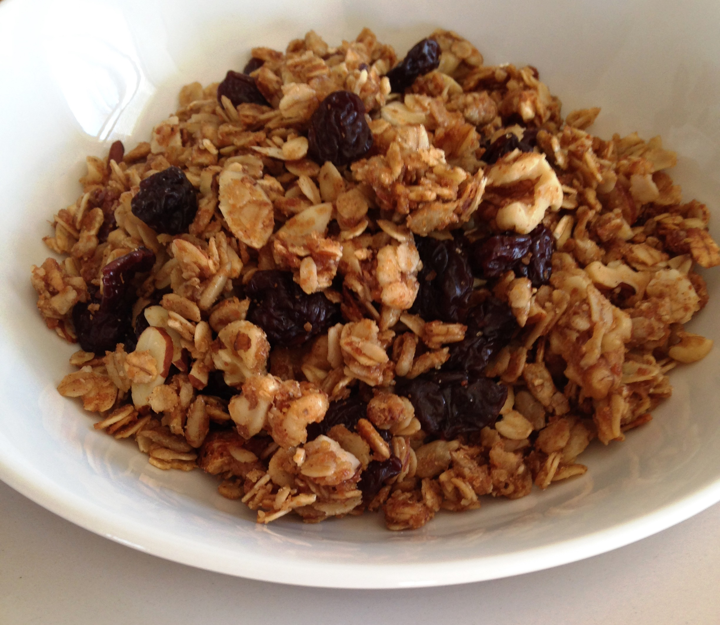 Cherry Nut Granola